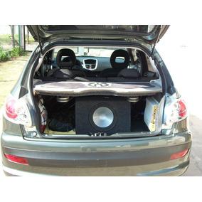 Peugeot 207 O 206 Equipo De Audio Completo Para Baúl