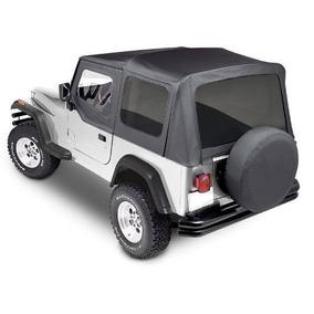 Toldo Suave Capota Para Jeep Wrangler 1988-1995