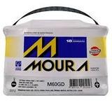 Bateria Moura 60amp / Direito / Sem Sucata