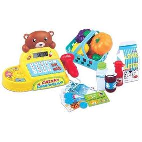 Brinquedo Caixa Registradora Infantil Criança Brincar