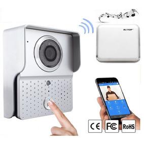 Portero Electrico Visor Wifi Inalambrico Camara Ip Campanila