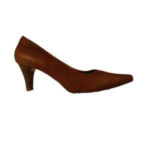 Stiletto Cuero Lady Stork Ultimo Par Aprovechalo Shoestore