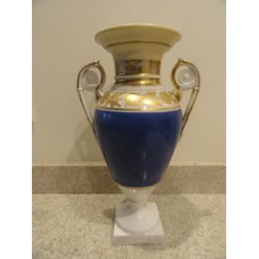 Florero De Porcelana T - Impecable 30cm Altura