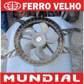 Defletor + Ventoinha Renault Sandero Logan Clio 1.0 S Ar