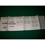 Frejuli . Boleta Electoral .11/3/1973 .