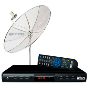 Kit Tv Free-antena+receptor Digital/analógico Tvft15-cromus