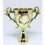 Mini Trofeu De Plastico (não Vai Personalizado)12 Unids