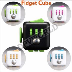 Fidget Spinner Cubo Anti Estres Cubo Rubik Quita Ansiedad