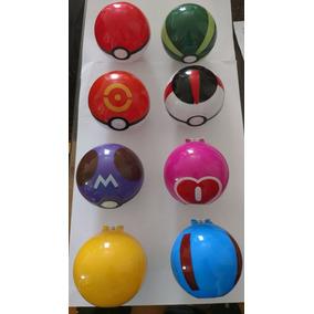 8 Pokémon - Pokebola Pokeball - Pokebola Padrão Sortidas