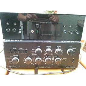 Amplicador Professional Quasar Qa 8080 X E Mesa De Som