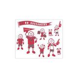 Nfl Tampa Bay Buccaneers Large Family Set De Calcomanías