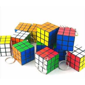 Llavero Cubo Mágico Económico Tipo Rubik Ideal Para Negocio