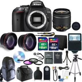 Kit Fotografico Nikon D5300 Slr18-55mm 32gb Memoria Y Mas.