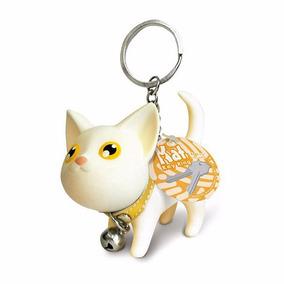 Chaveiro Gatinho Personalizado Animais Cores