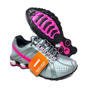 Tênis Nike Shox Junior Feminino Original 4 Molas Mulher