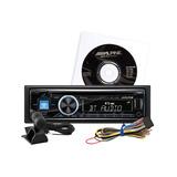 Nuevo Autoestereo Alpine Cde-143bt Usb Auxiliar Bluetooth