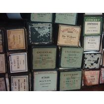 Rollos De Pianola En Sus Cajas Originales