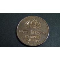 Numismática - Antiga Moeda Da Suécia 2 Ore De 1956