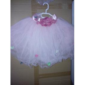 Tutu Para Ballet O Disfraz Hermoso Falda Princesa Tul Rosa