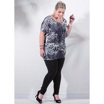 Lote 5 Conjunto Plus Size Blusa + Calça Legging Frete Gratis
