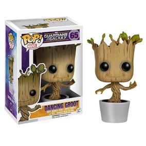 Funko Pop Dancing Baby Groot Guardiões Da Galaxia - Original
