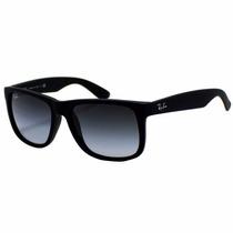 Lentes Ray Ban Rb4165 622/8g 55mm Justin - Negro- Azul