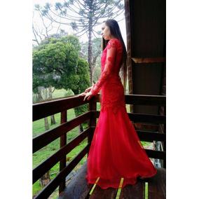 Vestido De Festa Madrinha Casamento Formatura