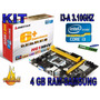 Kit Biostar Core I3 A 3.10ghz+4 Gb Ram Samsung (poderoso)
