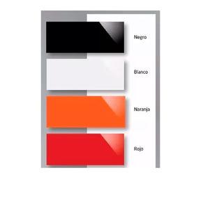 Revestimiento 20x50 Negro Rojo Naranja Turquesa Ceramicas
