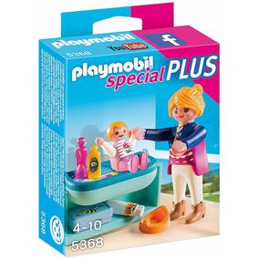 Playmobil Niña C Cambiador De Bebe 5368 Special Plus Edu