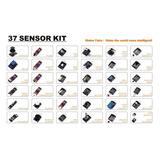 Kit 37 Modulos Sensores Y Actuadores En Box Arduino