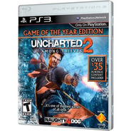 Uncharted 2: Among Thieves Ps3 - Frete Gratis - Semi-novo