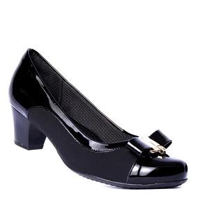 90045c7dde Sapato Piccadilly 147025 Oceano Verniz Feminino - Sapatos no Mercado ...