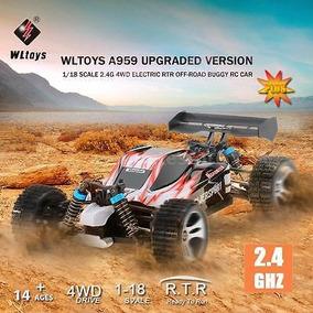 Wltoys A959 Actualizado Versión 1/18 2,4 G 4wd Coches Rc