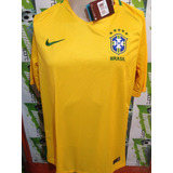 Jersey Nike Seleccion Brasil 2016 Local 100%original Oferta