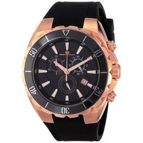 Reloj Oceanaut Woce1387 Negro