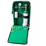 Kit Oxigenio Com Bolsa Cilindro Aluminio 3 Litros