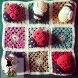 Ta Te Ti De Crochet Tejido A Mano