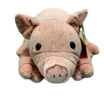 Porquinho De Pelúcia Fofy Toys - Pelúcias Safári - Porco