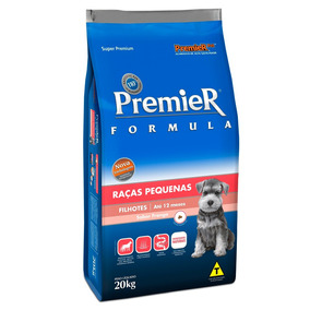 Ração Premier Pet Cães Filhotes Raças Pequenas Minibits 20kg
