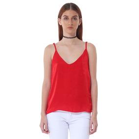 3651eaa6d4a16 Blusa Cami De Mujer Aishop Af173-1102-527 Rojo