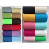 Cinta De Tela Tul De 15cm X 50mts X Rollo - Varios Colores