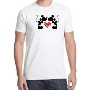 Playera Yazbek Para Caballero Mickey Love  Mickey Mouse