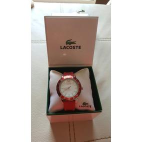 Reloj Lacoste Origina Rojo Hermoso