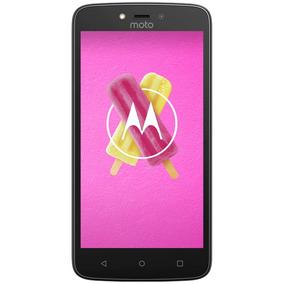 Celular Libre Motorola Moto C Plus Negro 4 G