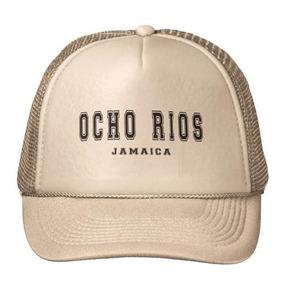 Gorra Trucker Camionero Ocho Rios Jamaica