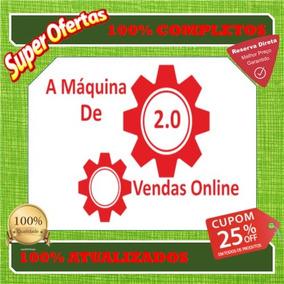 Máquina De Vendas Online 2.0- Tiago Basto+ Atualizações E