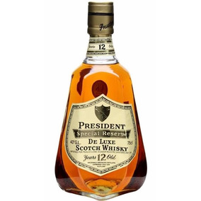 President Special Reserve Scotch Whisky - 12 Anos - Ano 1970