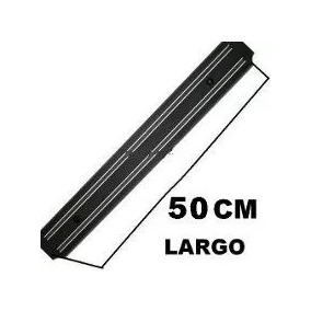 Porta Cuchillos Con Soporte Iman Magnetico Cocina 50cm