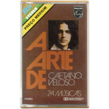 Fita K7 A Arte De Caetano Veloso 1979 Cassete